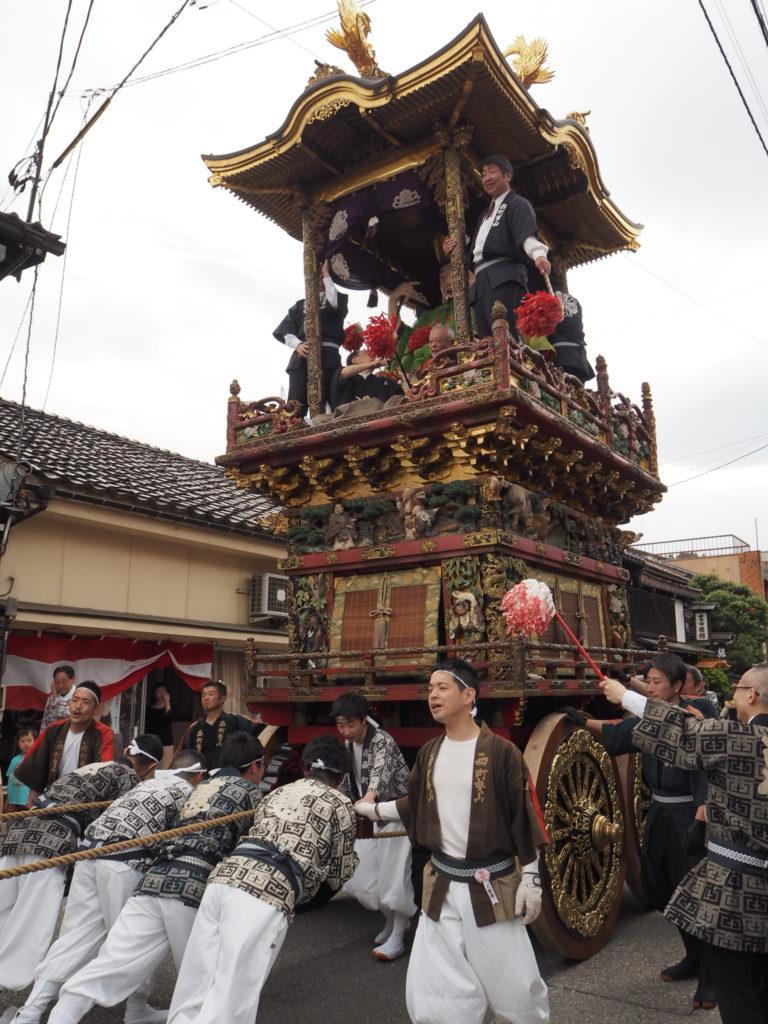 越中八尾曳山祭1