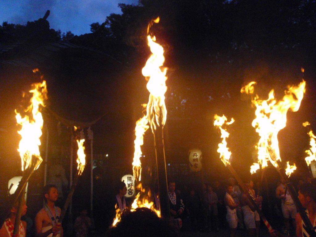 二本松の提灯祭り1