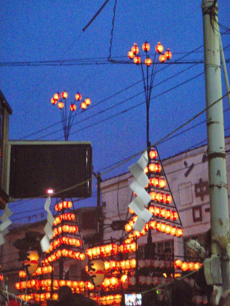 二本松の提灯祭り2