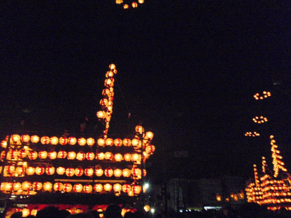 二本松の提灯祭り3