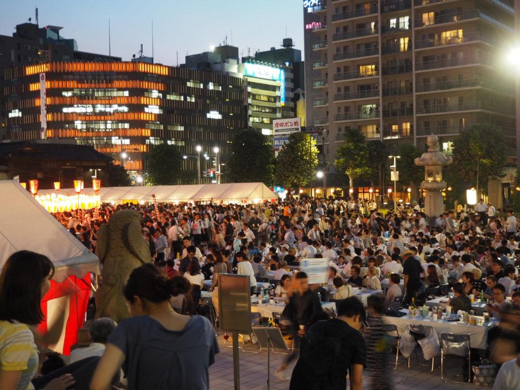 築地本願寺納涼盆踊り大会2