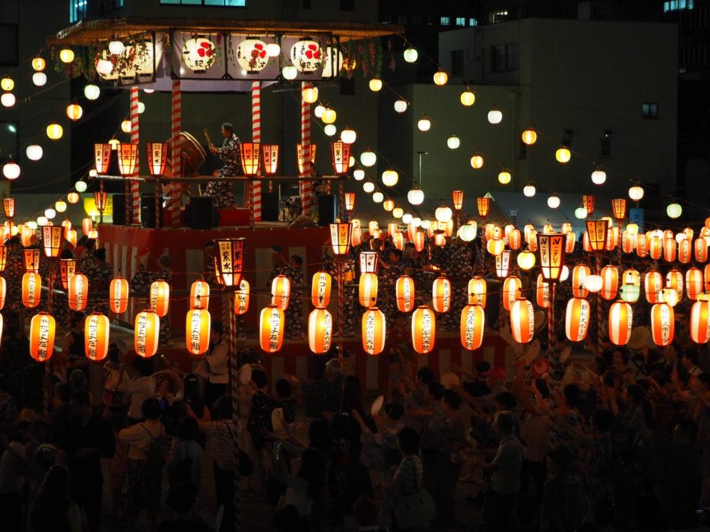 築地本願寺納涼盆踊り大会3