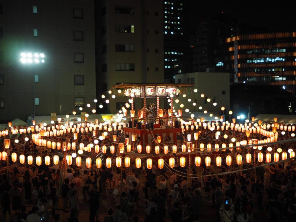 築地本願寺納涼盆踊り大会5