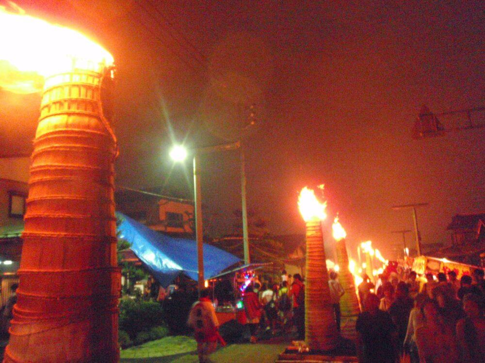 吉田の火祭り2