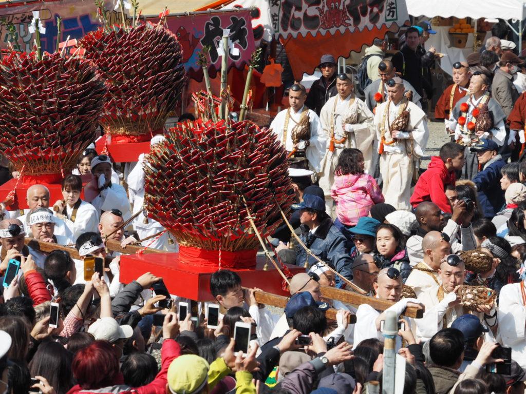 高尾山火渡り祭3