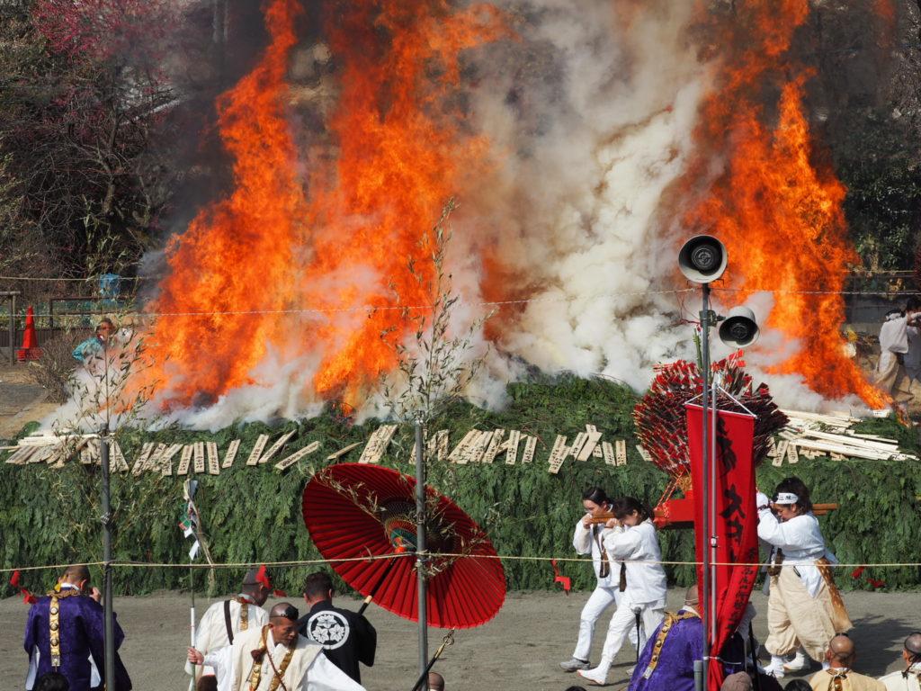 高尾山火渡り祭4