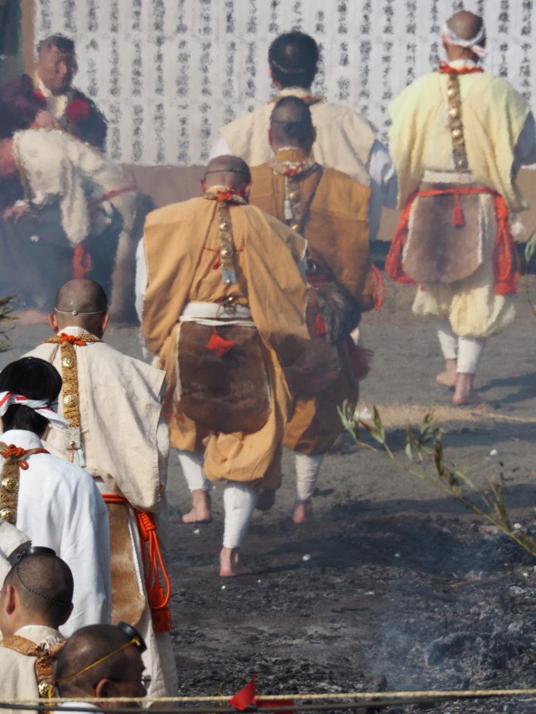 高尾山火渡り祭6