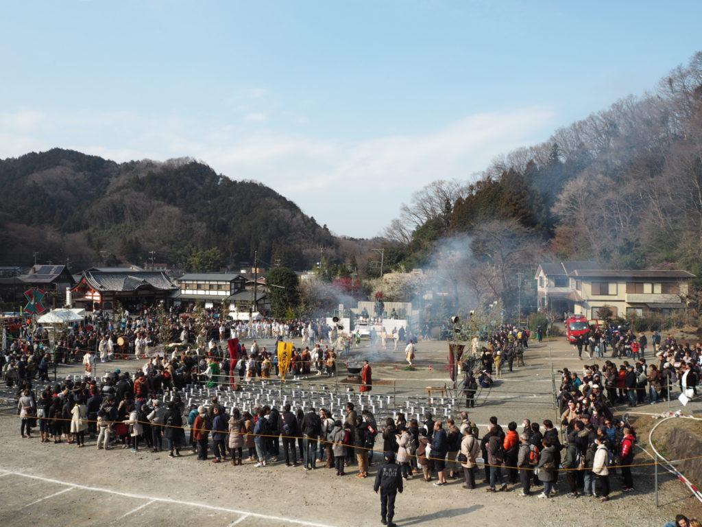 高尾山火渡り祭7