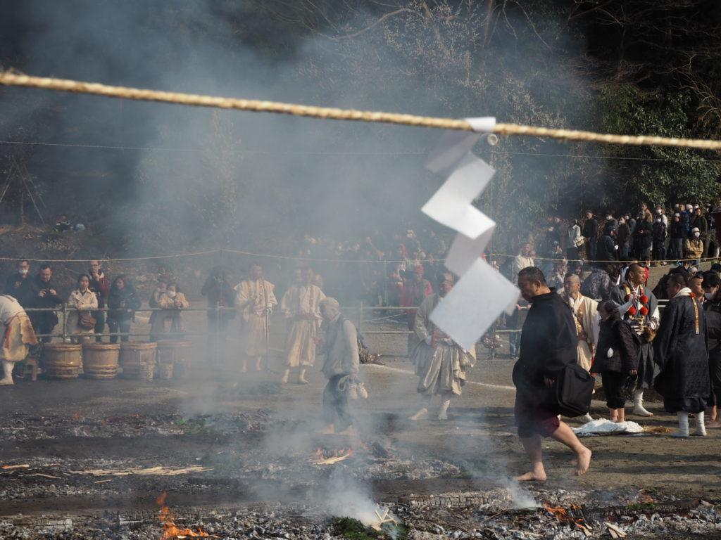 高尾山火渡り祭8