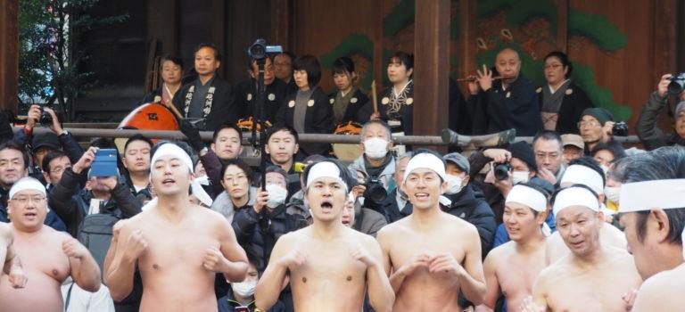 鉄砲洲稲荷神社寒中水浴大会