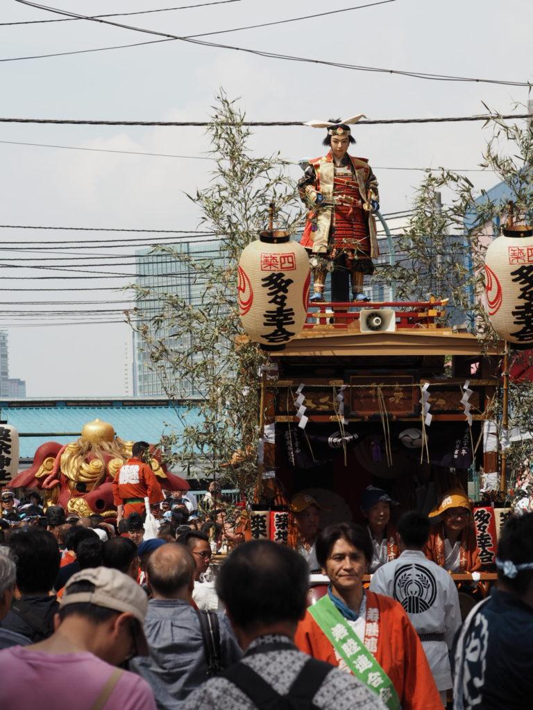 つきじ獅子祭り1