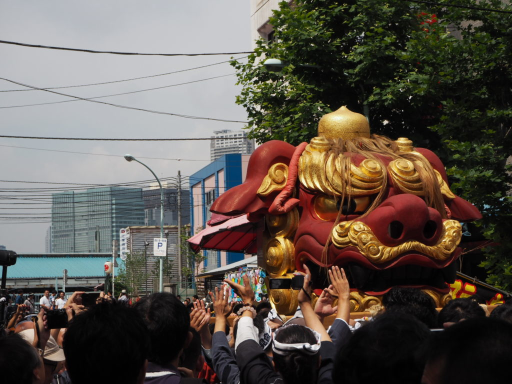 つきじ獅子祭り2