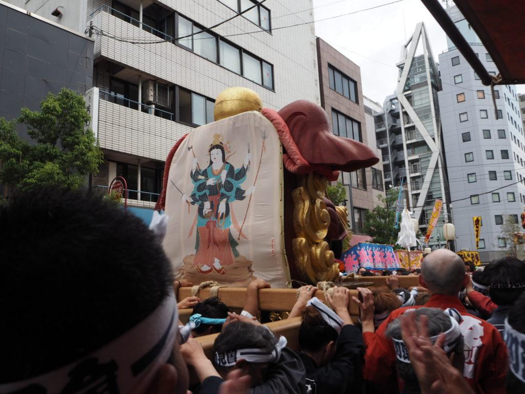 つきじ獅子祭り3
