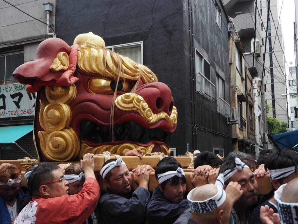 つきじ獅子祭り5