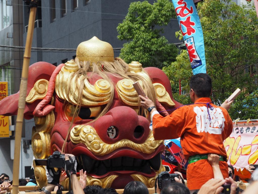 つきじ獅子祭り6