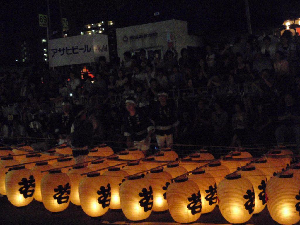 秋田竿燈まつり3