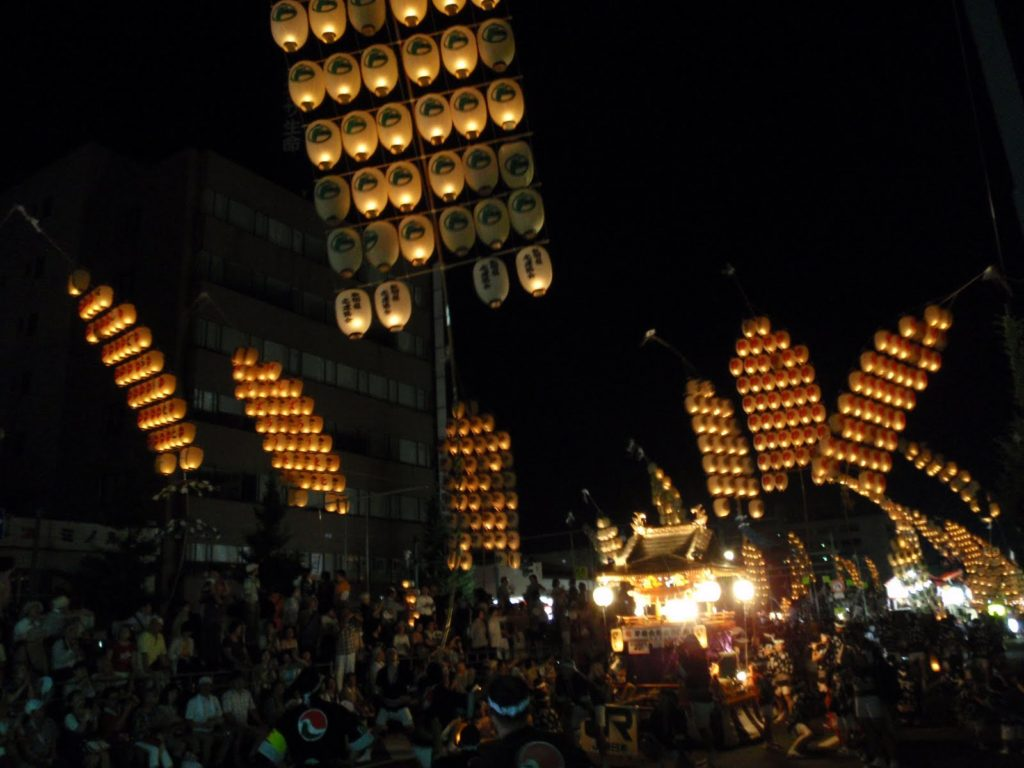 秋田竿燈まつり6