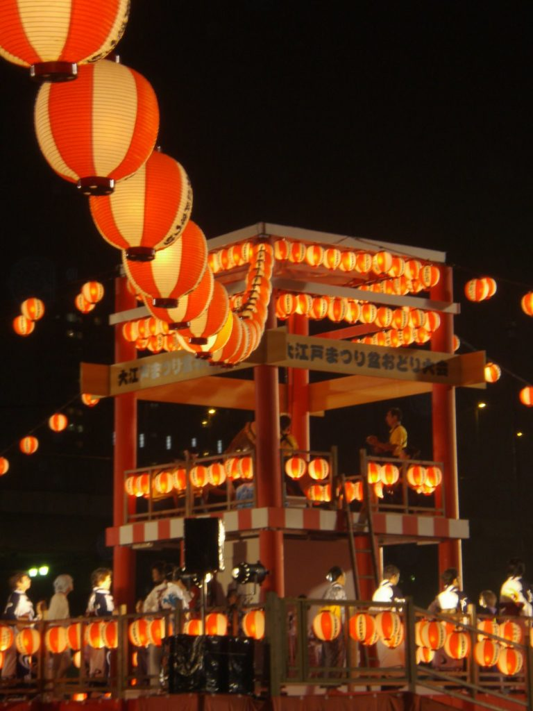 大江戸まつり盆踊り大会1