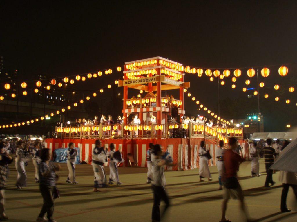 大江戸まつり盆踊り大会3