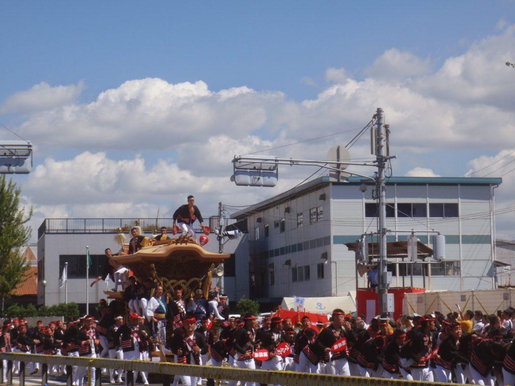 岸和田だんじり祭3