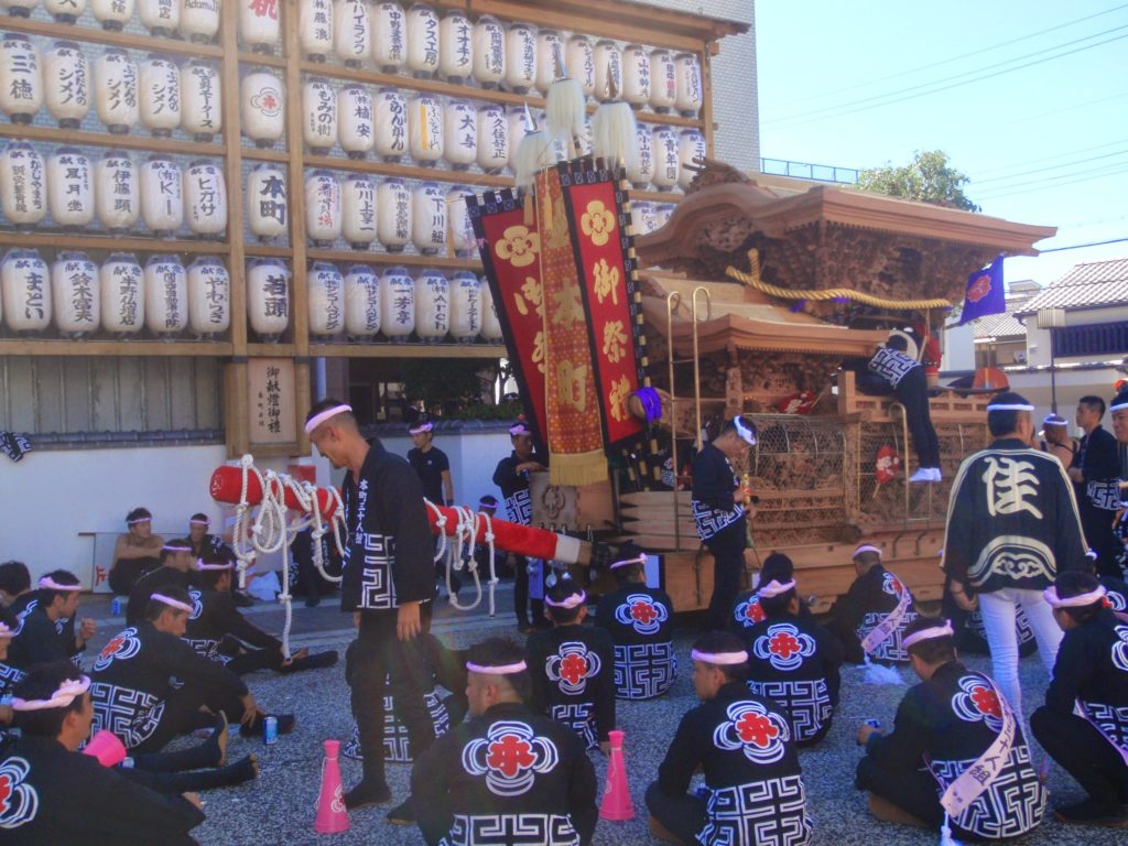 岸和田だんじり祭5