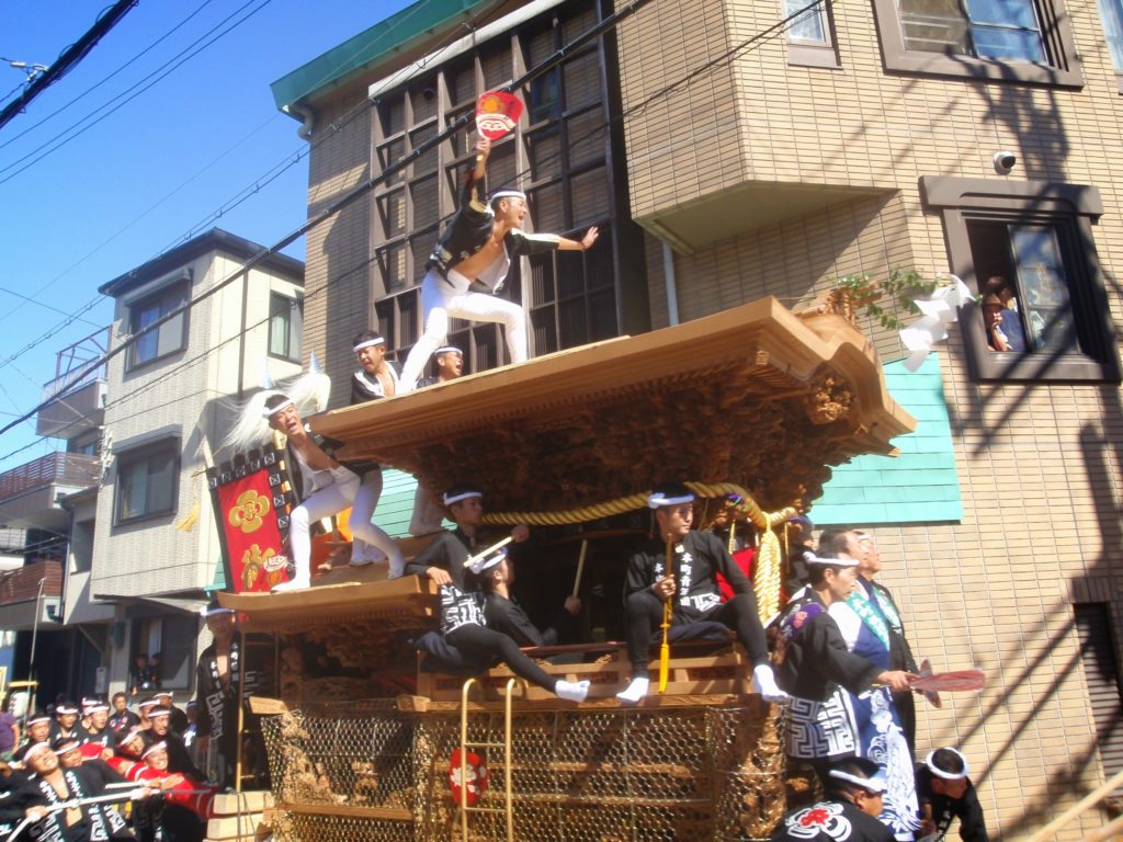 岸和田だんじり祭4