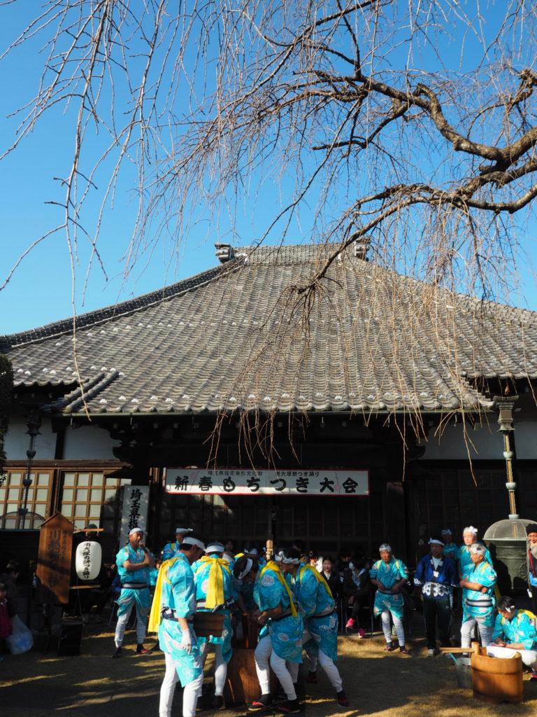 南大塚の餅つき踊り1