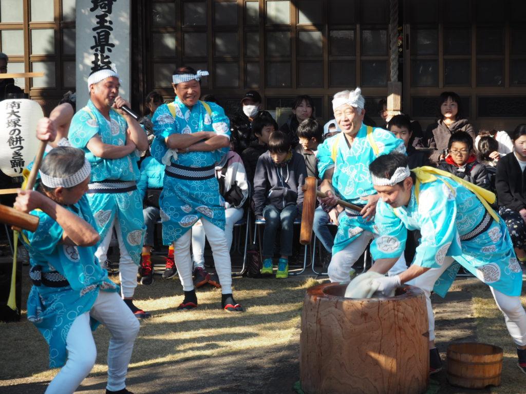 南大塚の餅つき踊り2