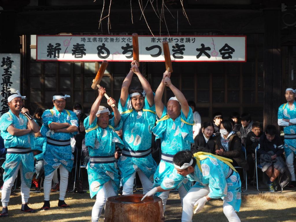 南大塚の餅つき踊り3
