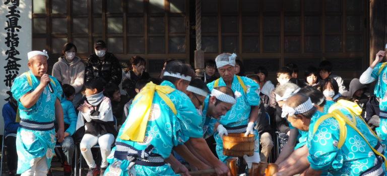 南大塚の餅つき踊り4