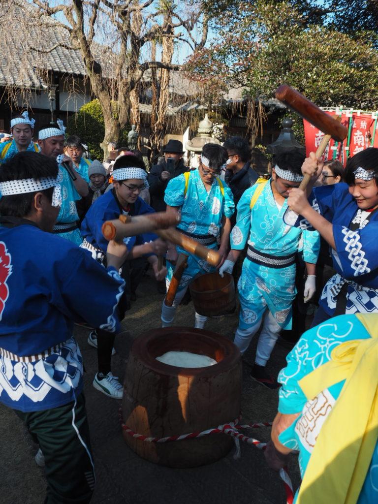 南大塚の餅つき踊り5