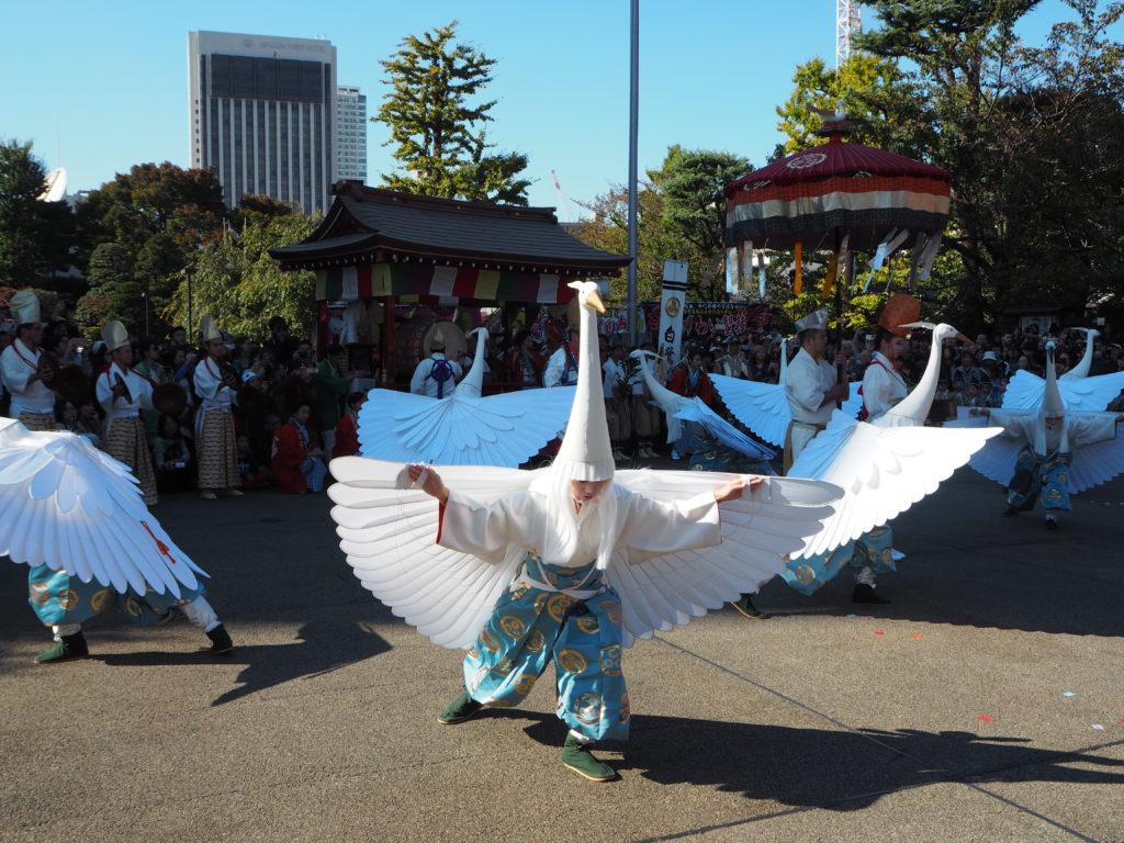 白鷺の舞3