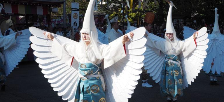 白鷺の舞2