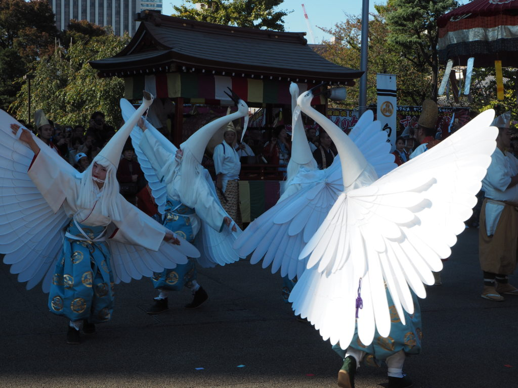 白鷺の舞4