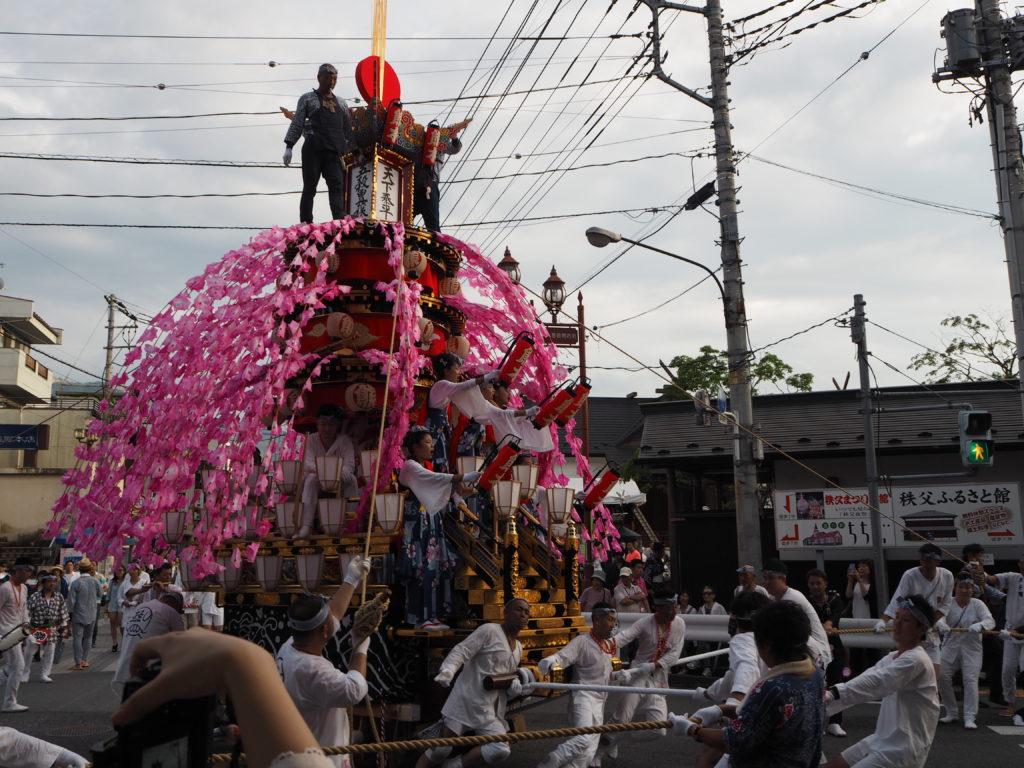 秩父川瀬祭1