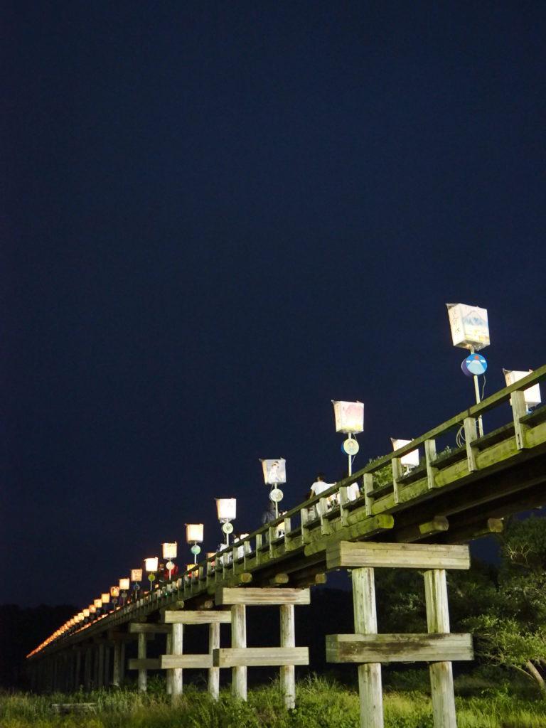 蓬莱橋ぼんぼり祭り5