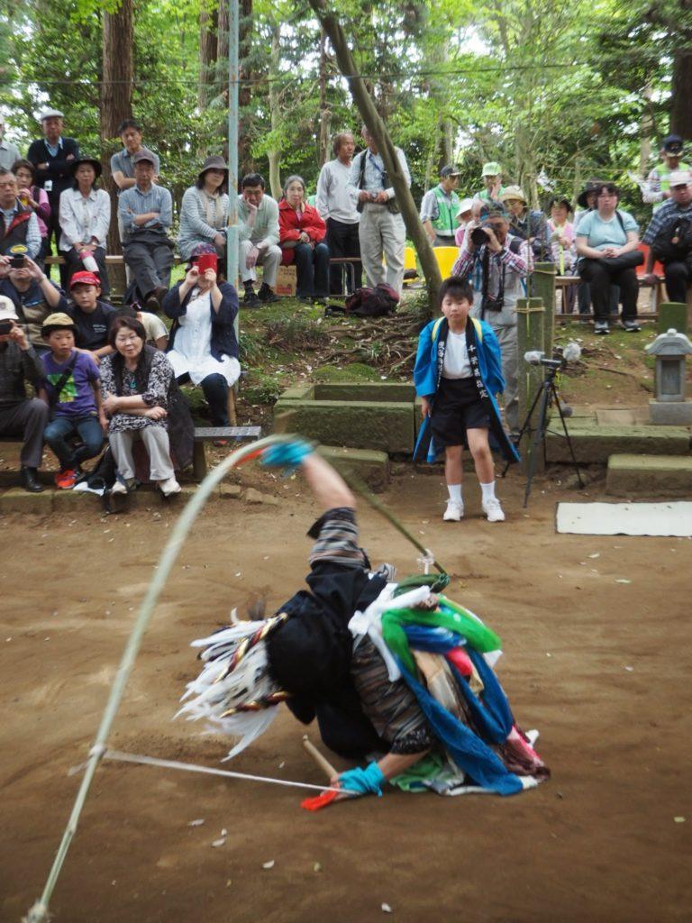 鳥海神社の獅子舞6