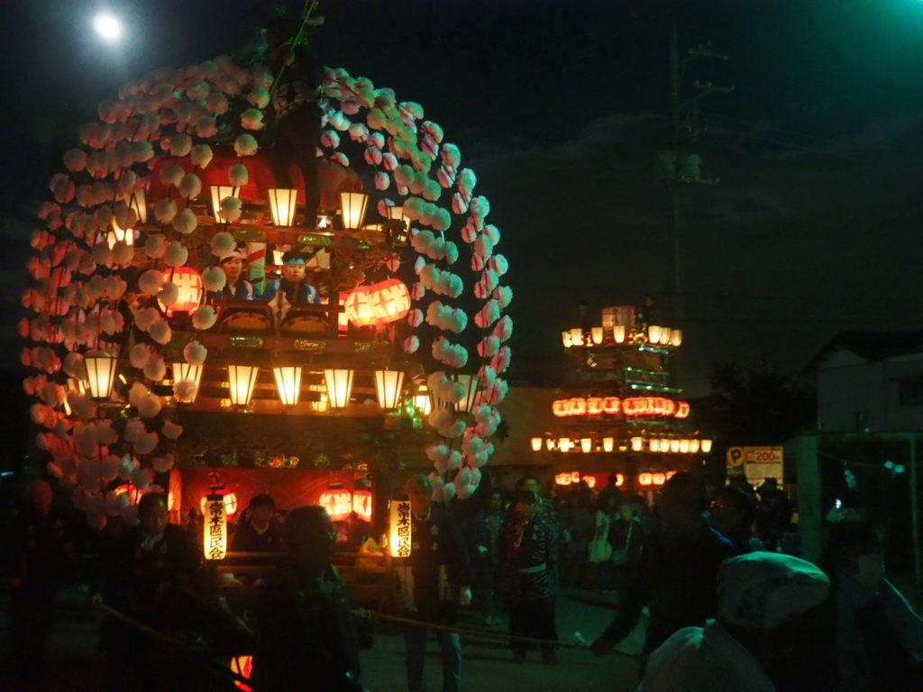 寄居秋祭り1