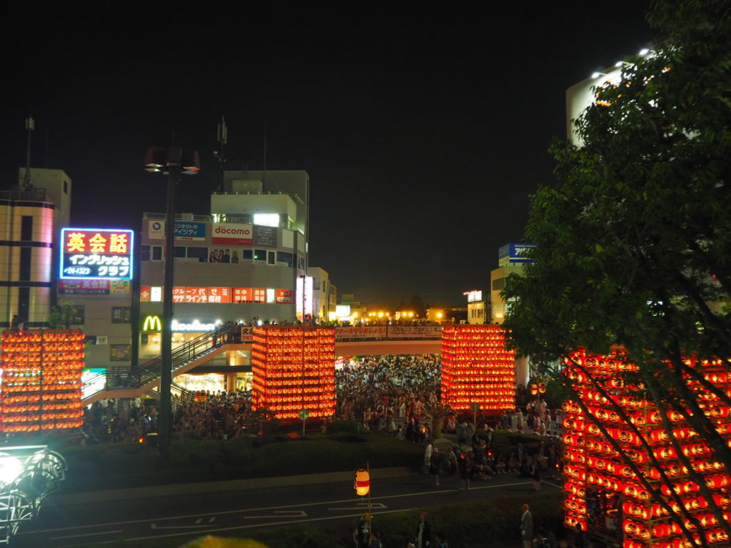 久喜提灯祭り6