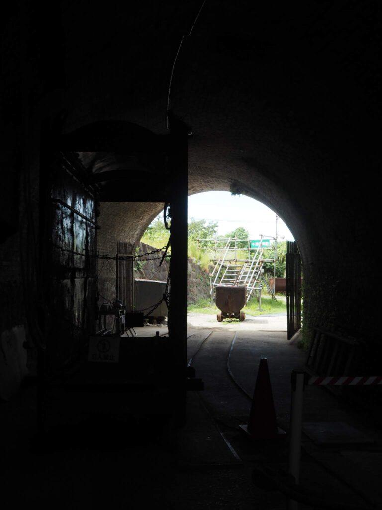 万田坑第二竪坑櫓2
