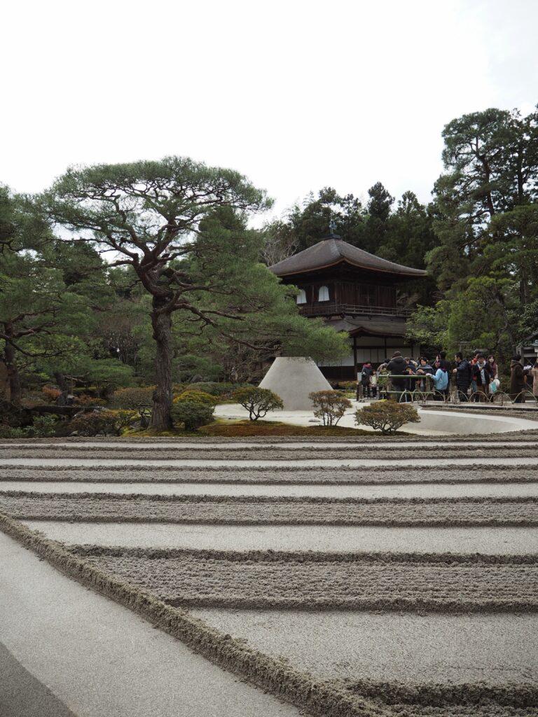 銀閣寺3と庭