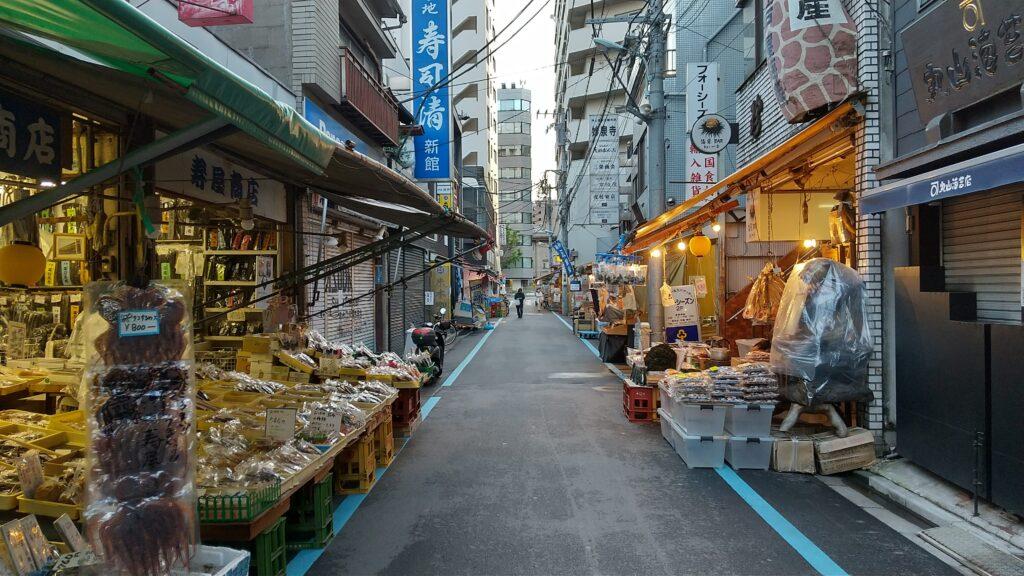 築地場外市場1