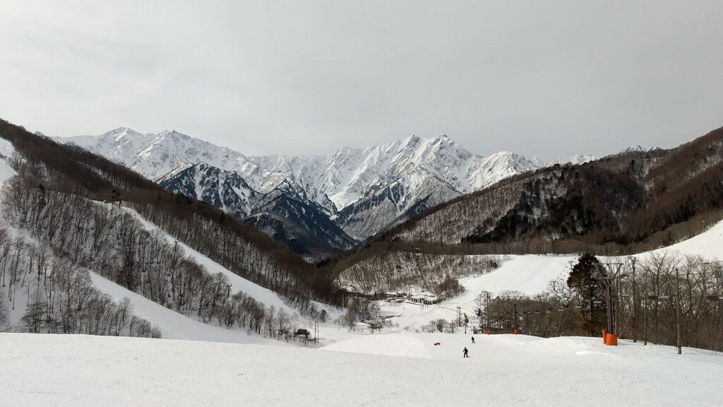鹿島槍スキー