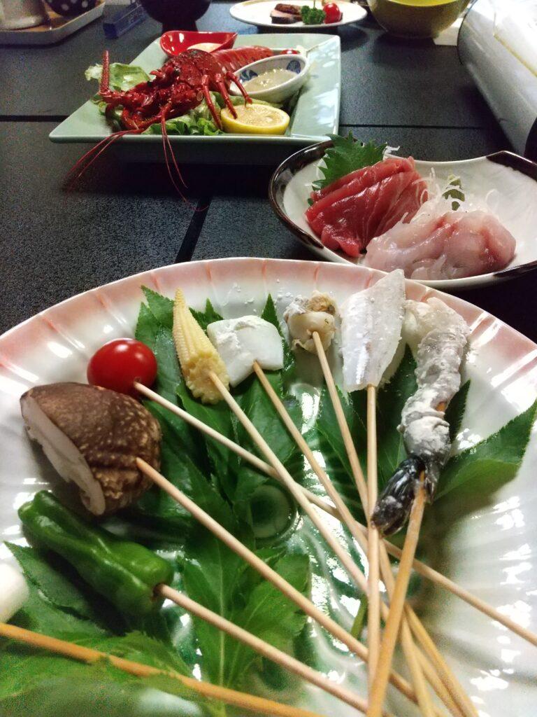 椿油天ぷら