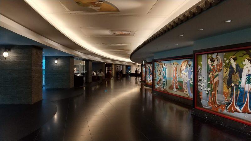 ホテル雅叙園東京_回廊